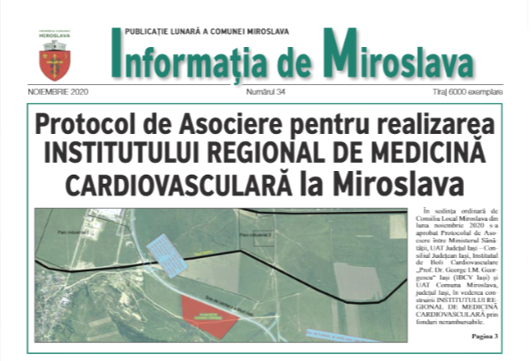 Invormația de Miroslava nr. 34